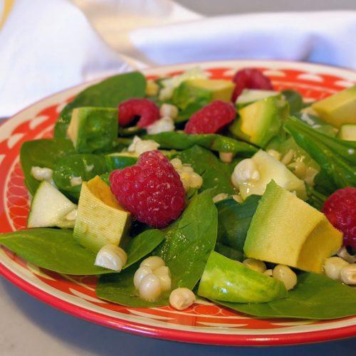 Avocado Corn Summer Salad