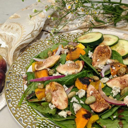 Fig Edamame Salad