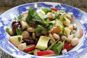 apple-bean-salad-with-apple-mustard-vinaigrette