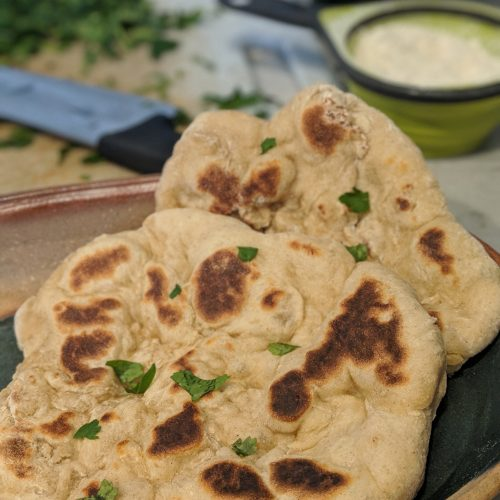 Healthy Whole Wheat Naan